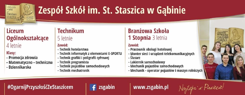 Zespół Szkół im. St. Staszica w Gąbinie