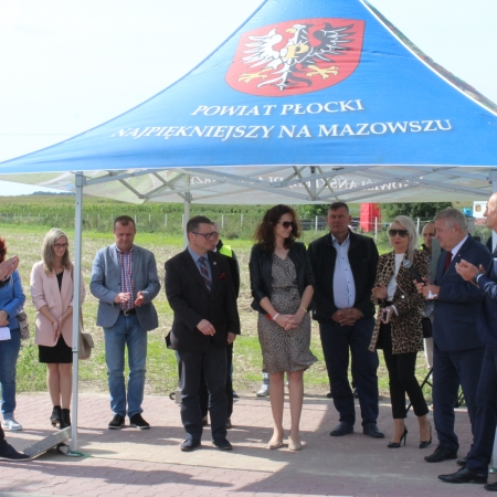 Droga powiatowa nr 6907W Gąbin – Nowy Kamień – Janówek oficjalnie oddana do użytku