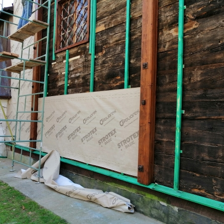 Ruszyły prace restauratorskie w Kościele w Dobrzykowie
